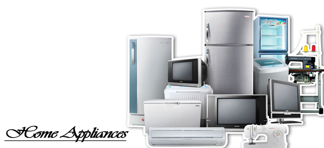 How do you inspect the online home appliances prior to purchase?