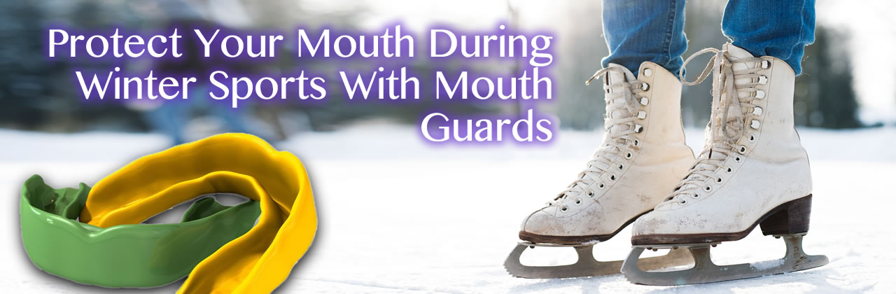 Winter Sports With Mouth Guards